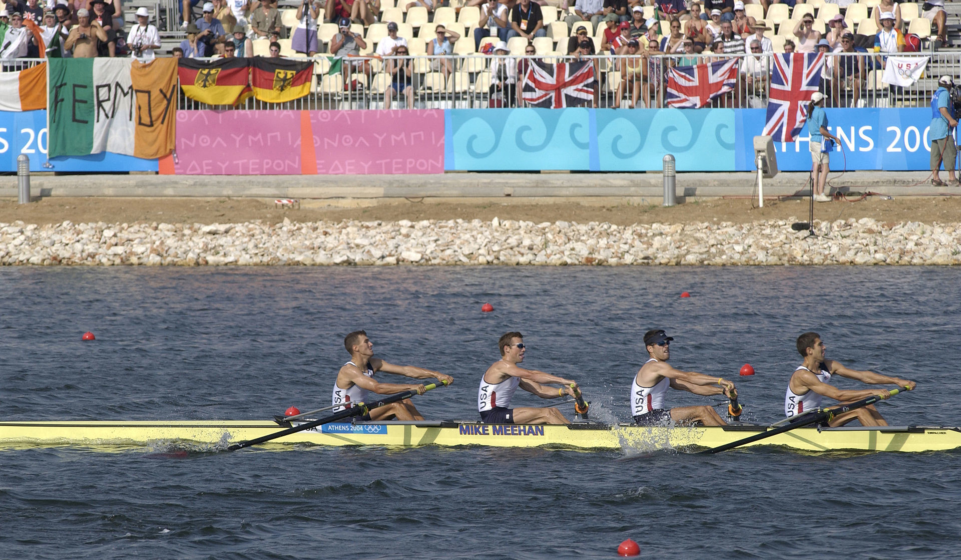 USA Mens Lightweight Four Athens 2004